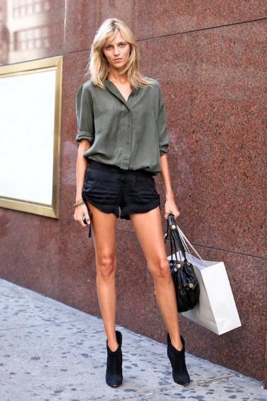 le-fashion-blog-model-off-duty-anja-rubik-summer-street-style-black-shorts
